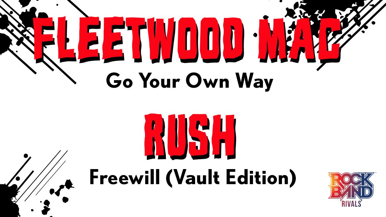 Rock Band DLC Week of 6/29: Fleetwood Mac and Rush!