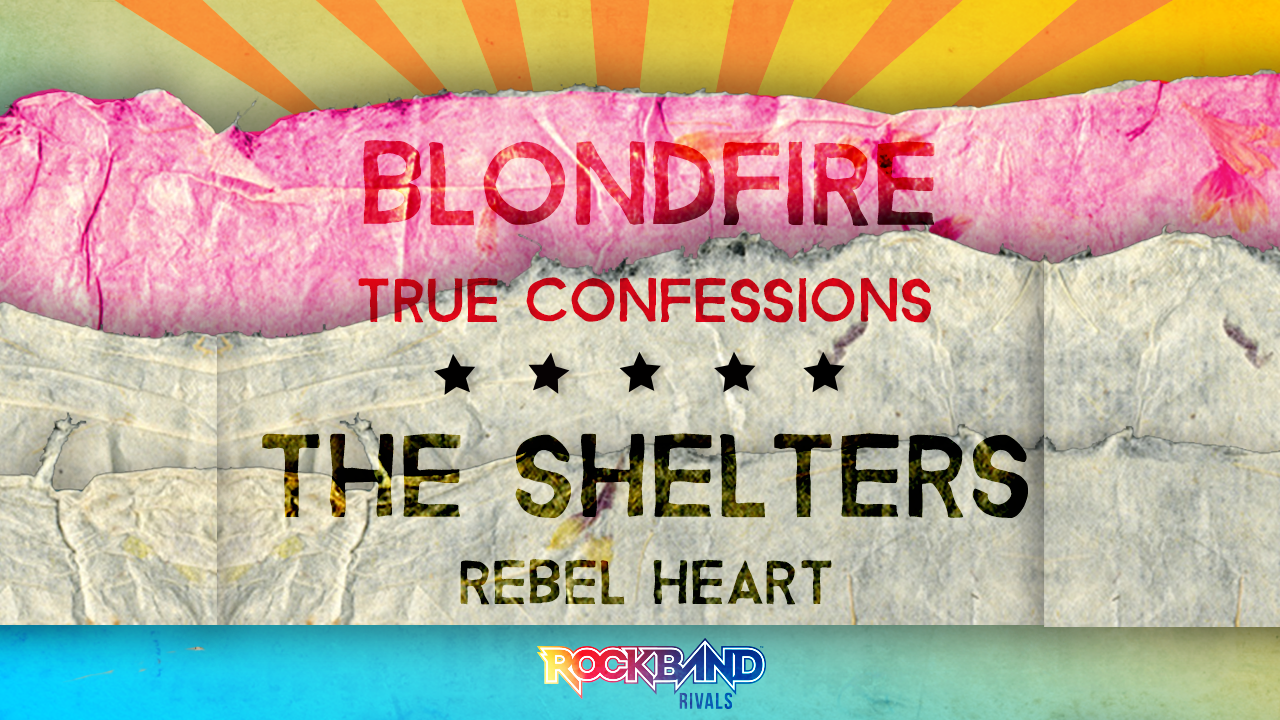 Rock Band DLC Week of 8/03: Blondfire and The Shelters!