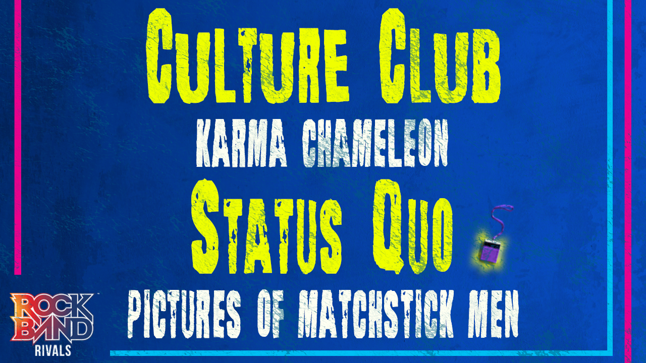 DLC Week of 4/19: Culture Club and Status Quo!