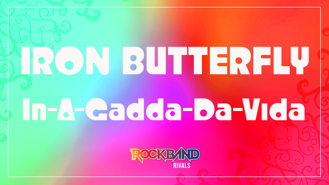 Rock Band DLC Week of 7/13: Iron Butterfly!