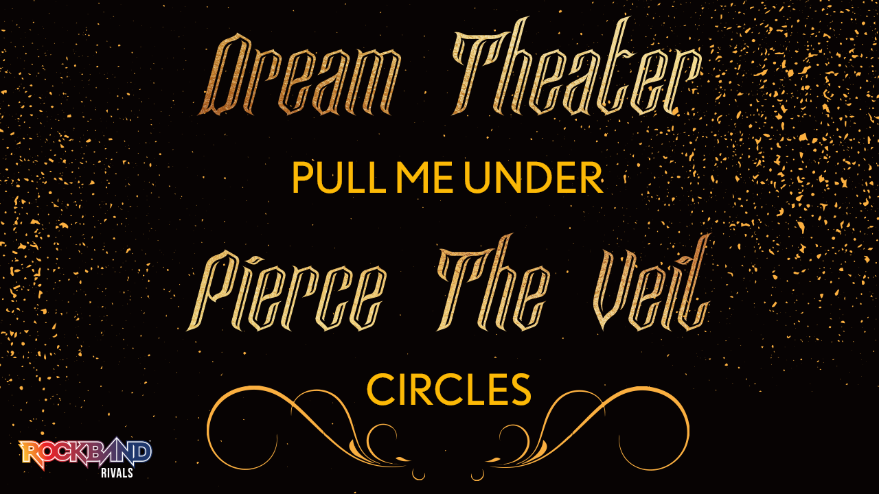 Rock Band DLC Week of 6/08: Dream Theater and Pierce The Veil!