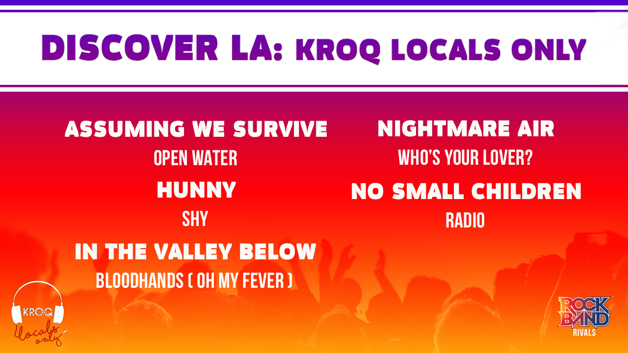 Special Rivals DLC Release! Discover LA: KROQ Locals Only Pack!