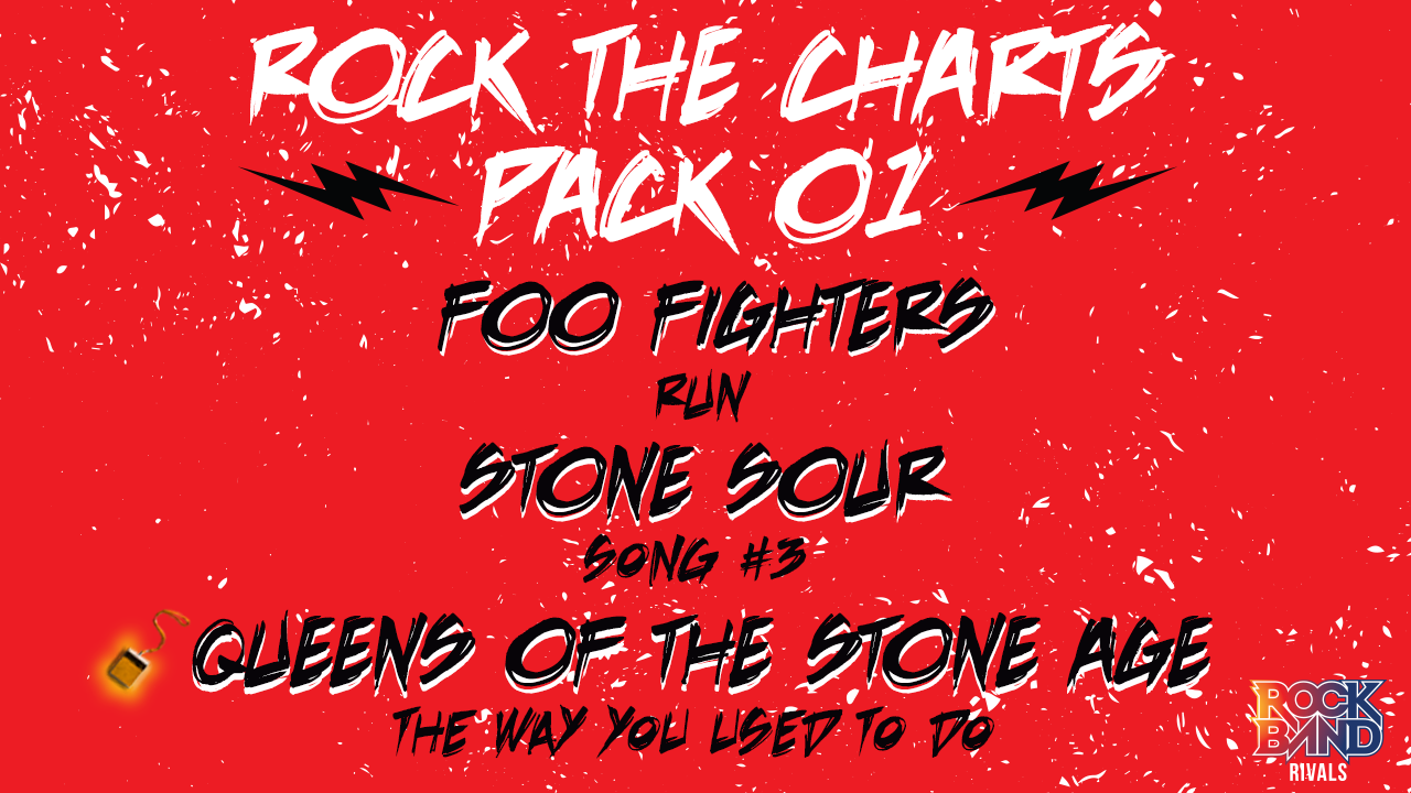 DLC Week of 12/07: Rock the Charts Pack 01!