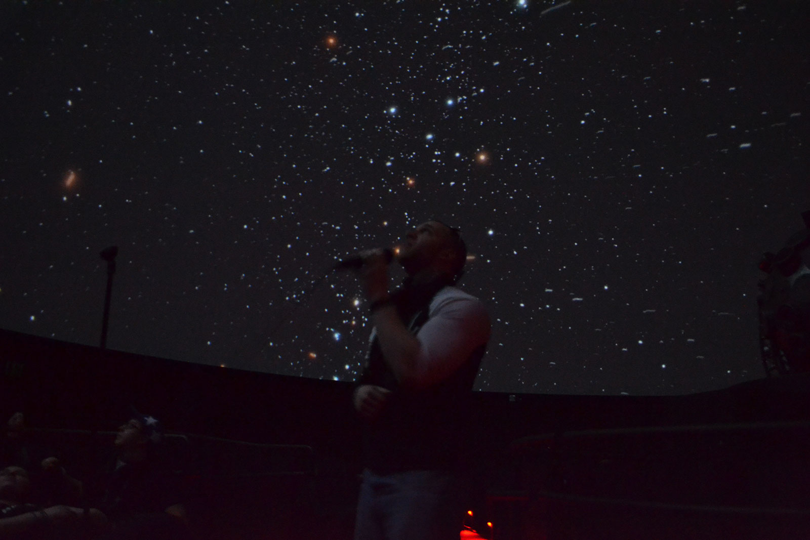 Singing under the stars