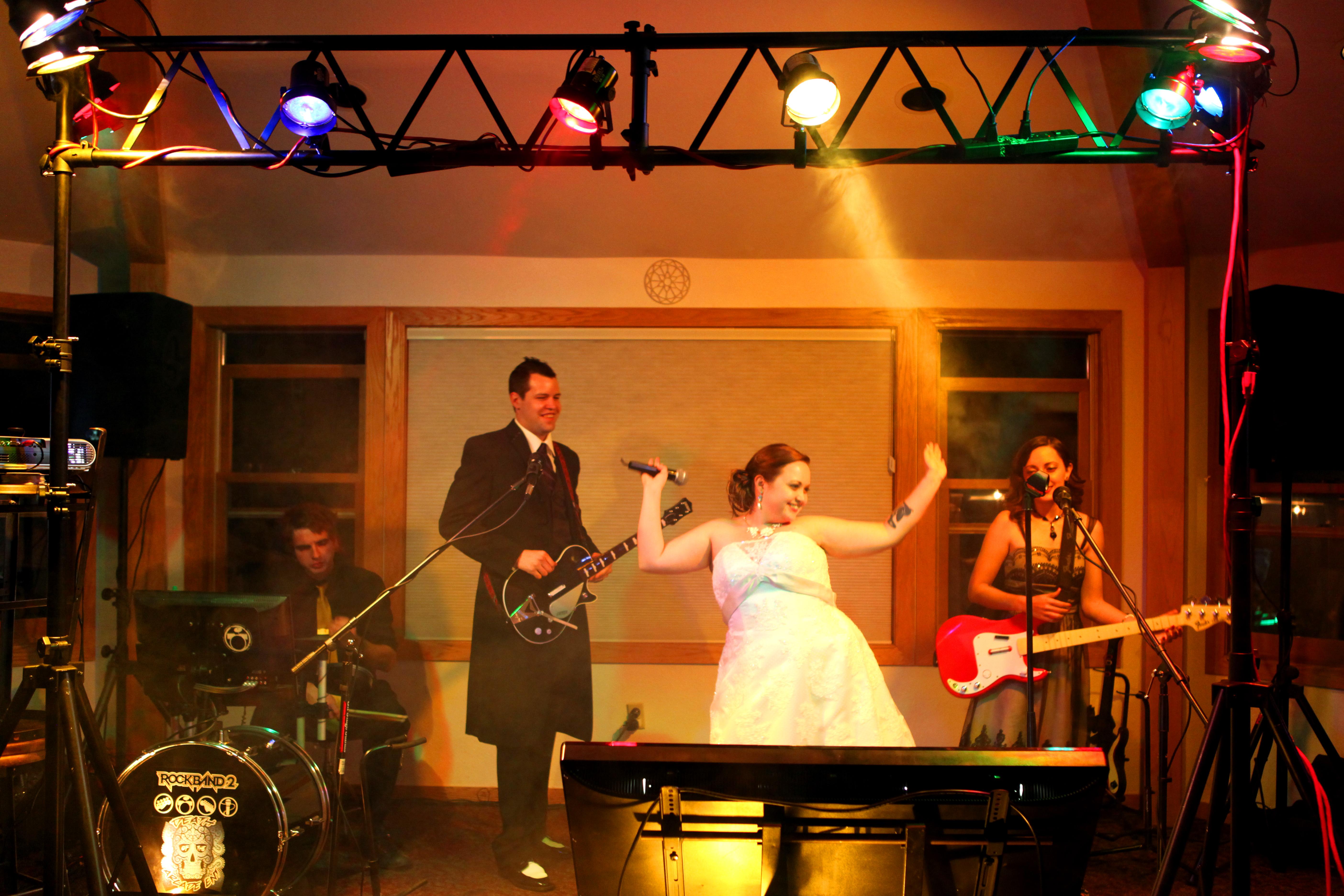 Rock Band Wedding!