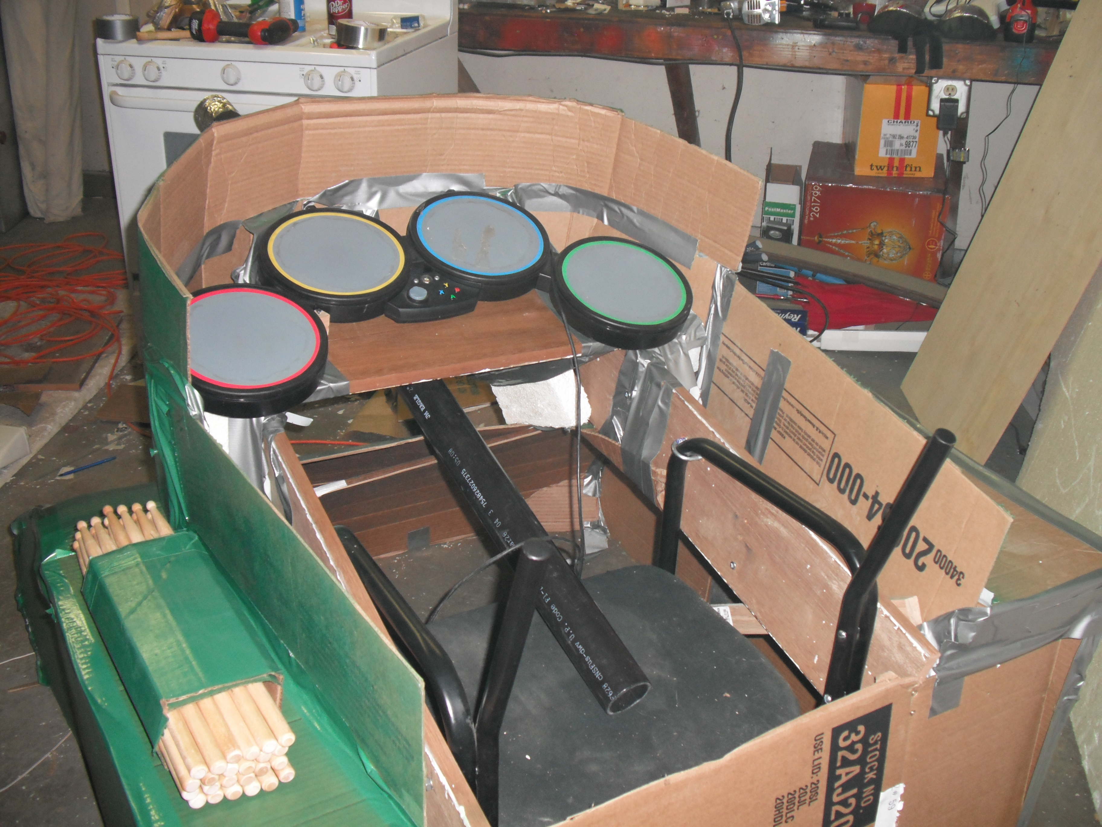 Drum tank 2