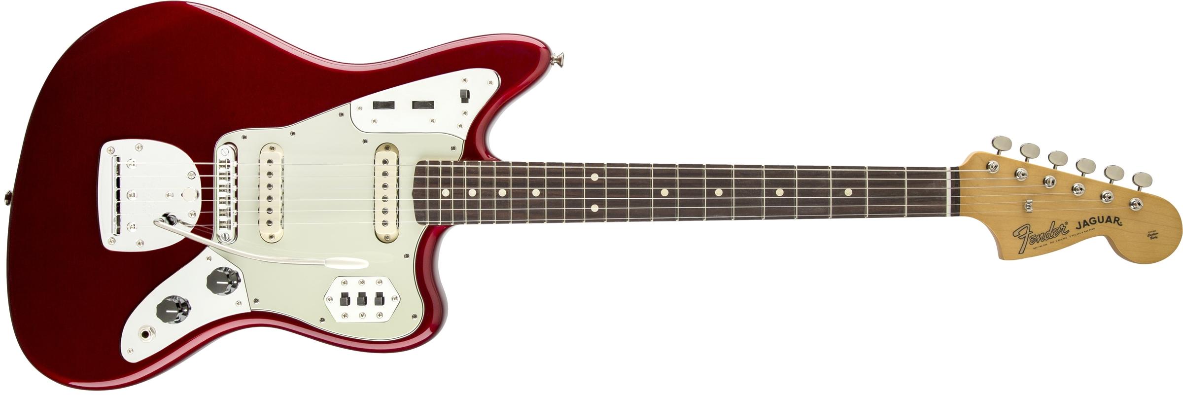 Candy Apple Red Fender® Jaguar®