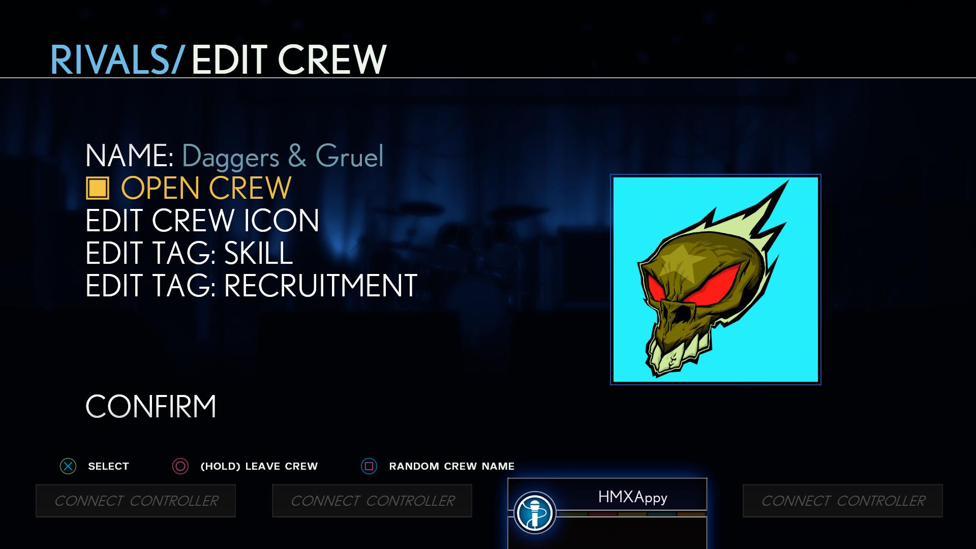 Open Crew