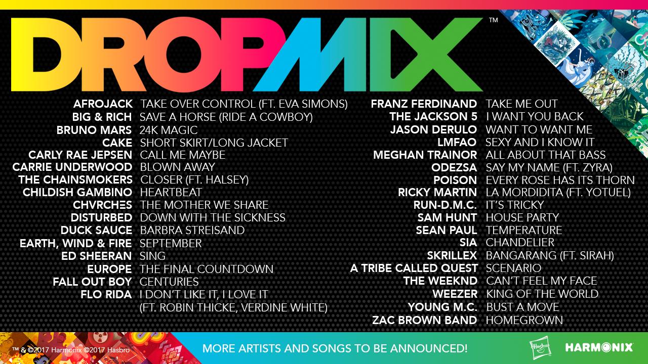 DropMix Artists