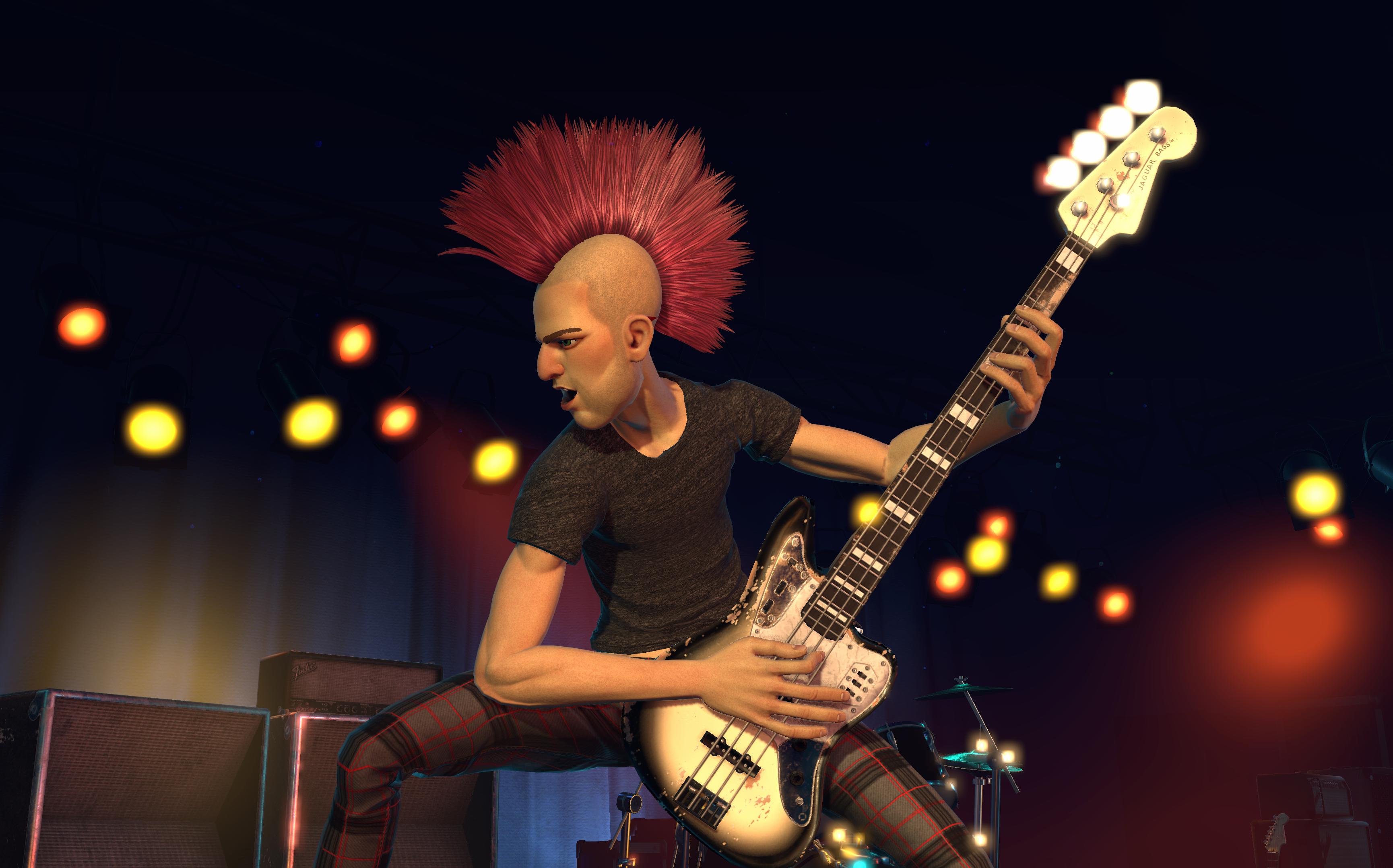 Fender Guitar in Rock Band 4