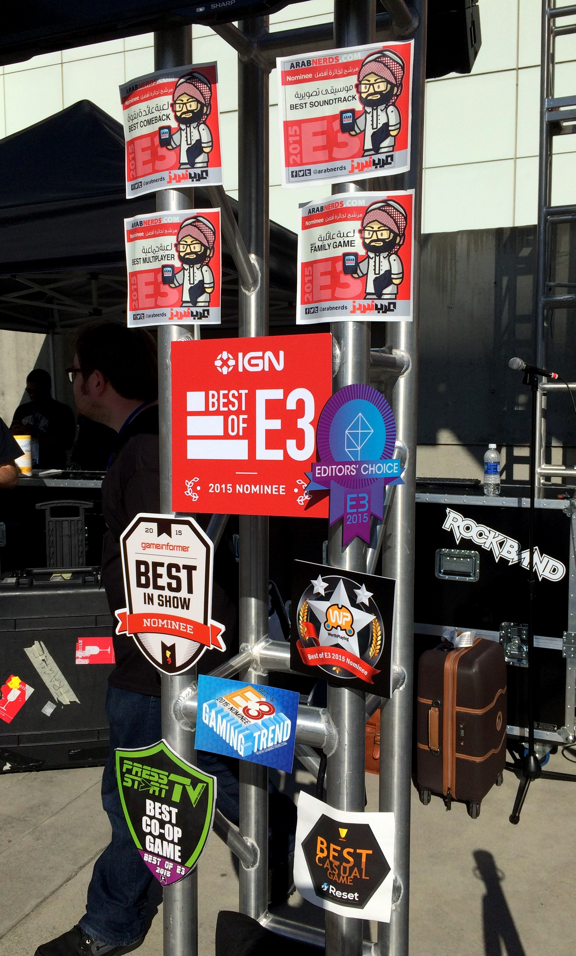 The awards at the end of E3
