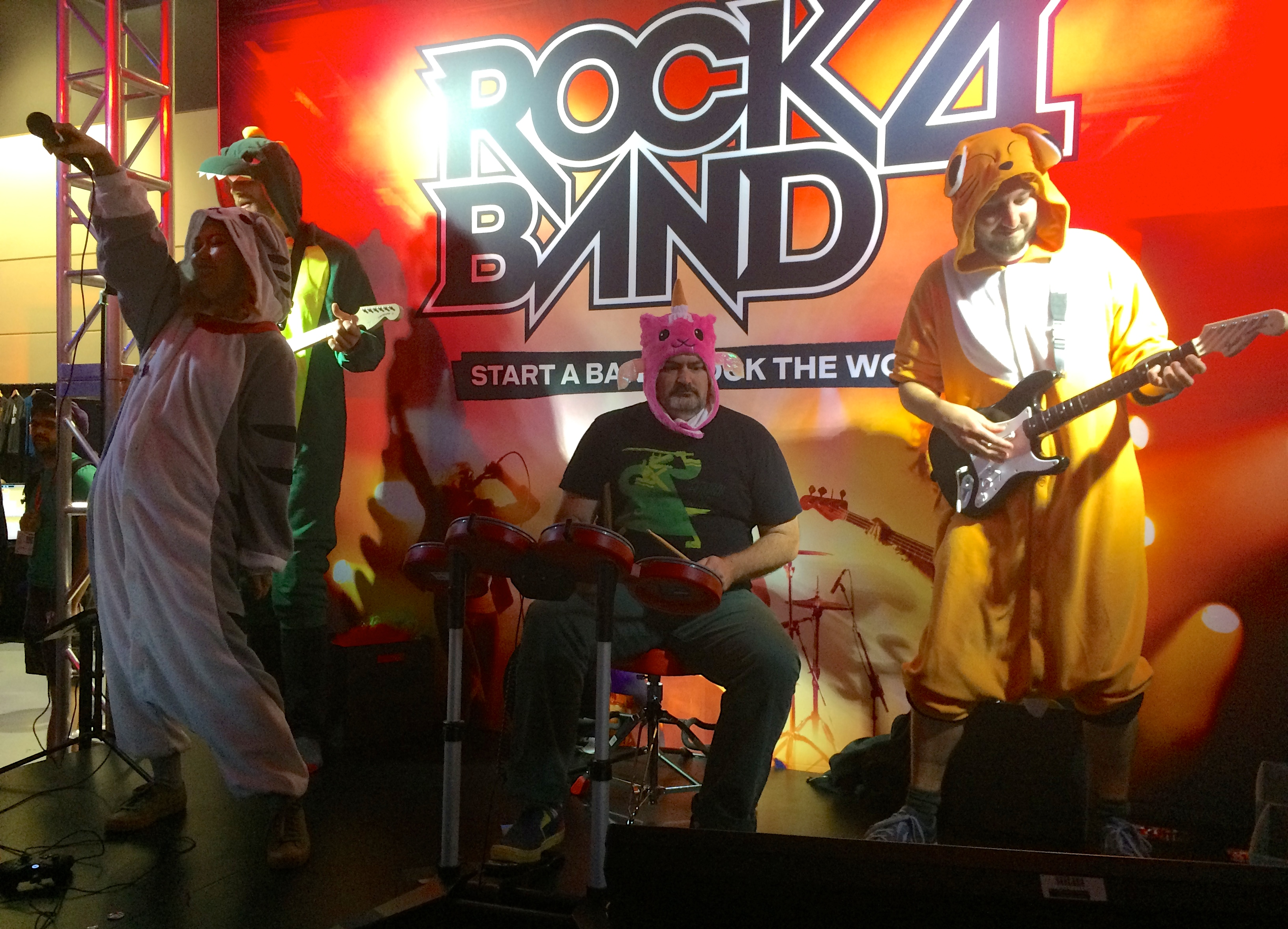 Double Fine plays Rock Band 4