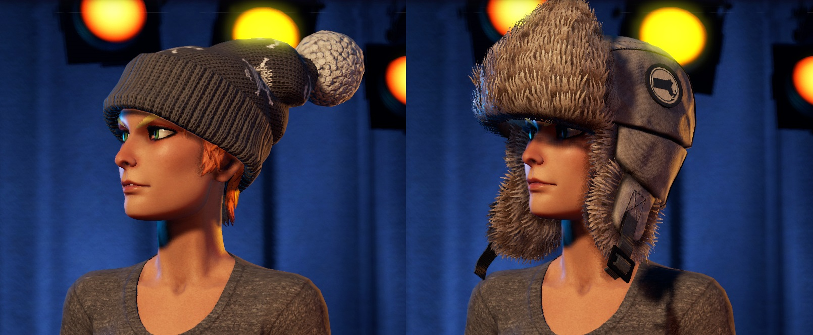 Rock Band 4 Snow Business Beanie and Cold Comfort Hat