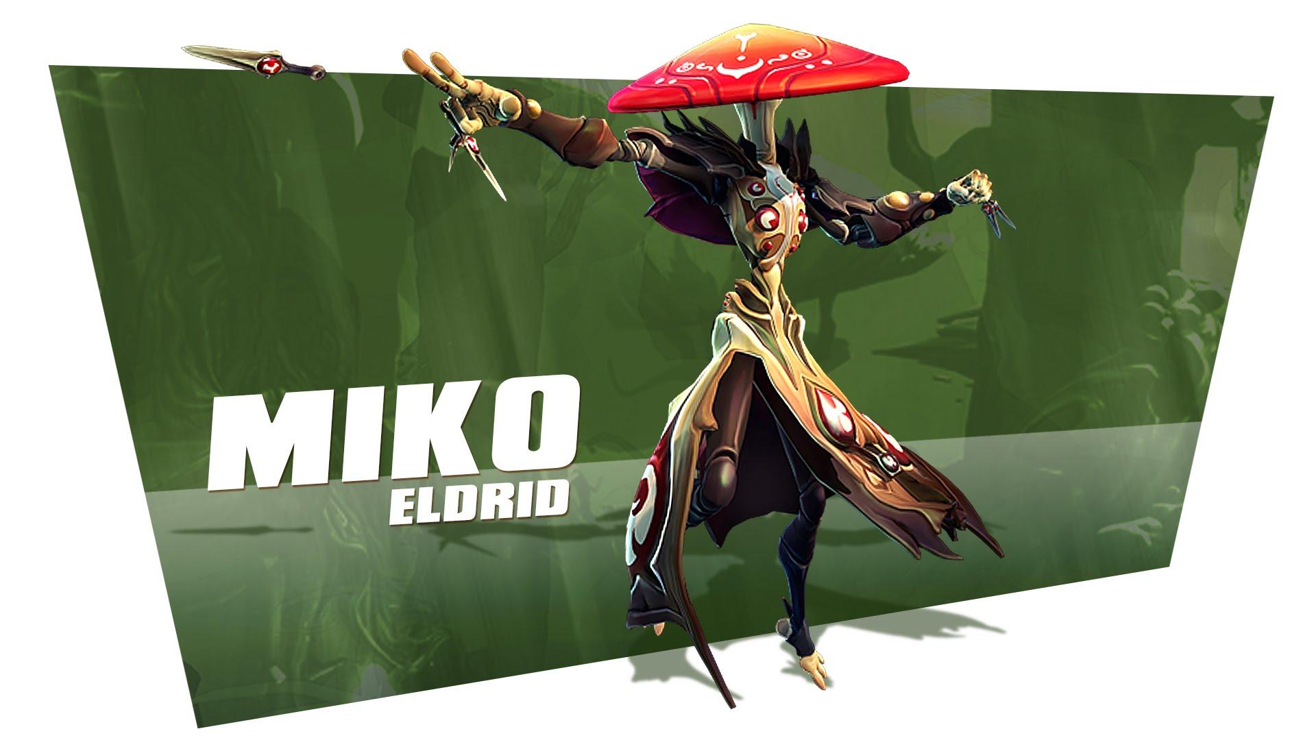 Miko, the healer from Battleborn