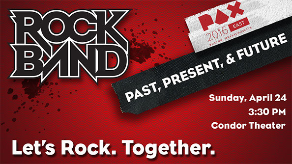 Rock Band - Past, Present & Future