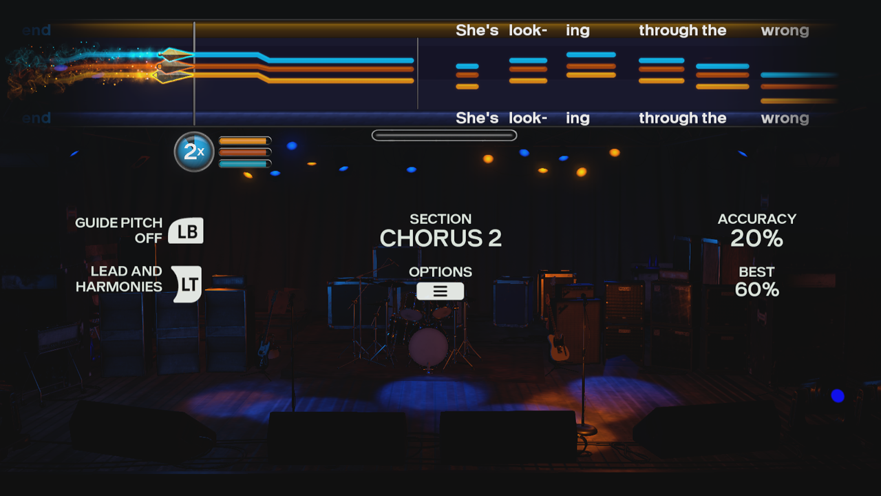 Rock Band 4 - Practice Mode - Vocal Harmonies