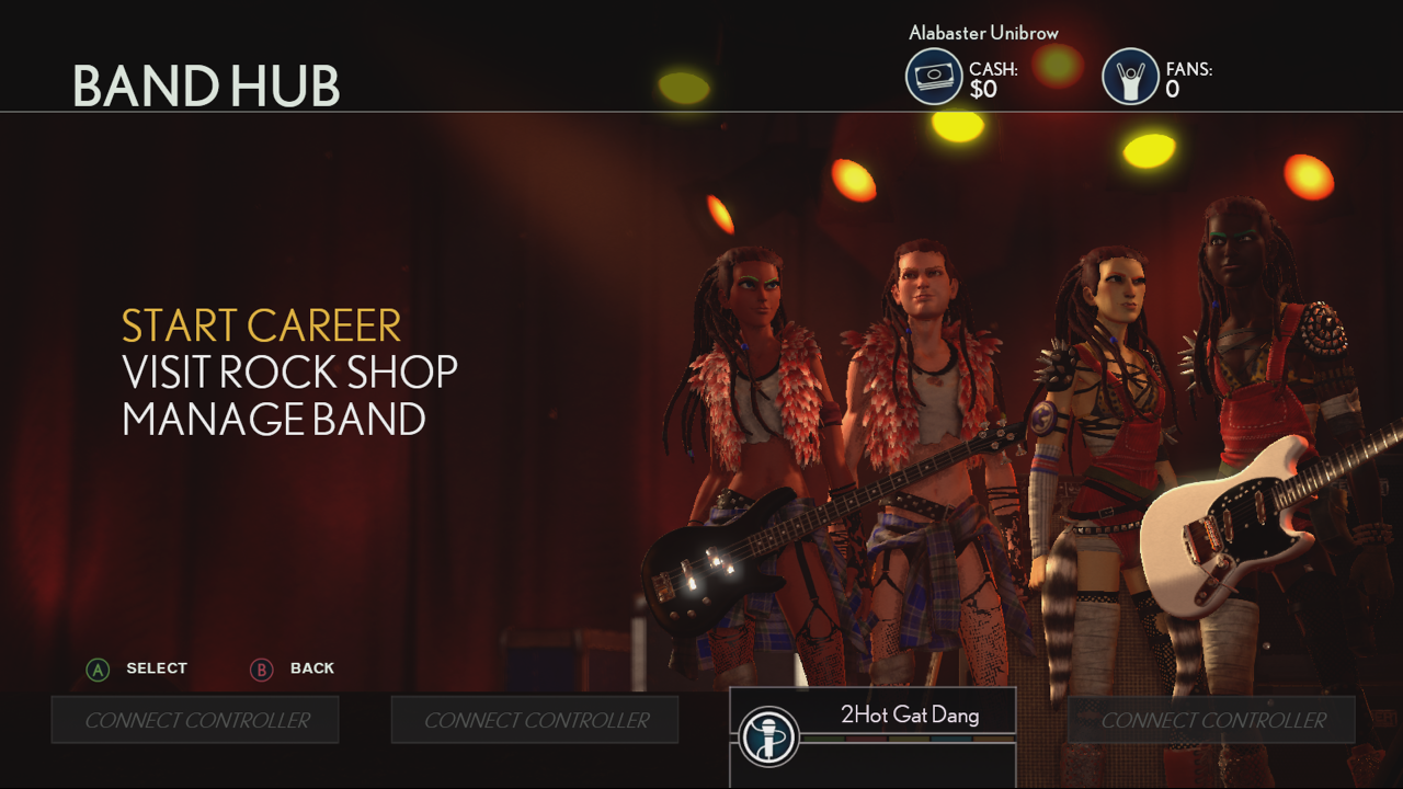 Punk Outfits in Rock Band 4