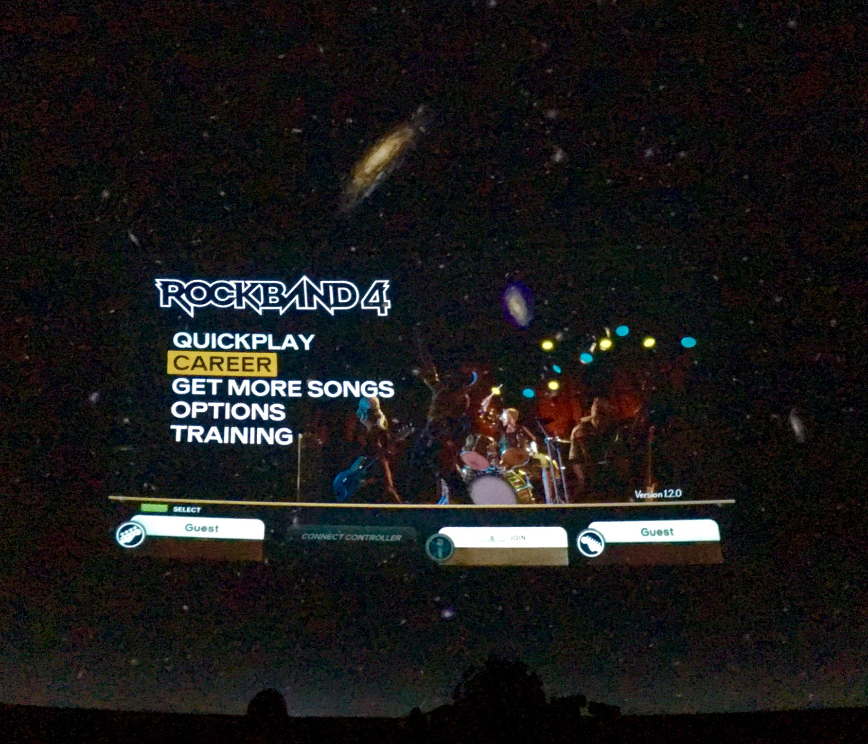 Harmonix at the Planetarium