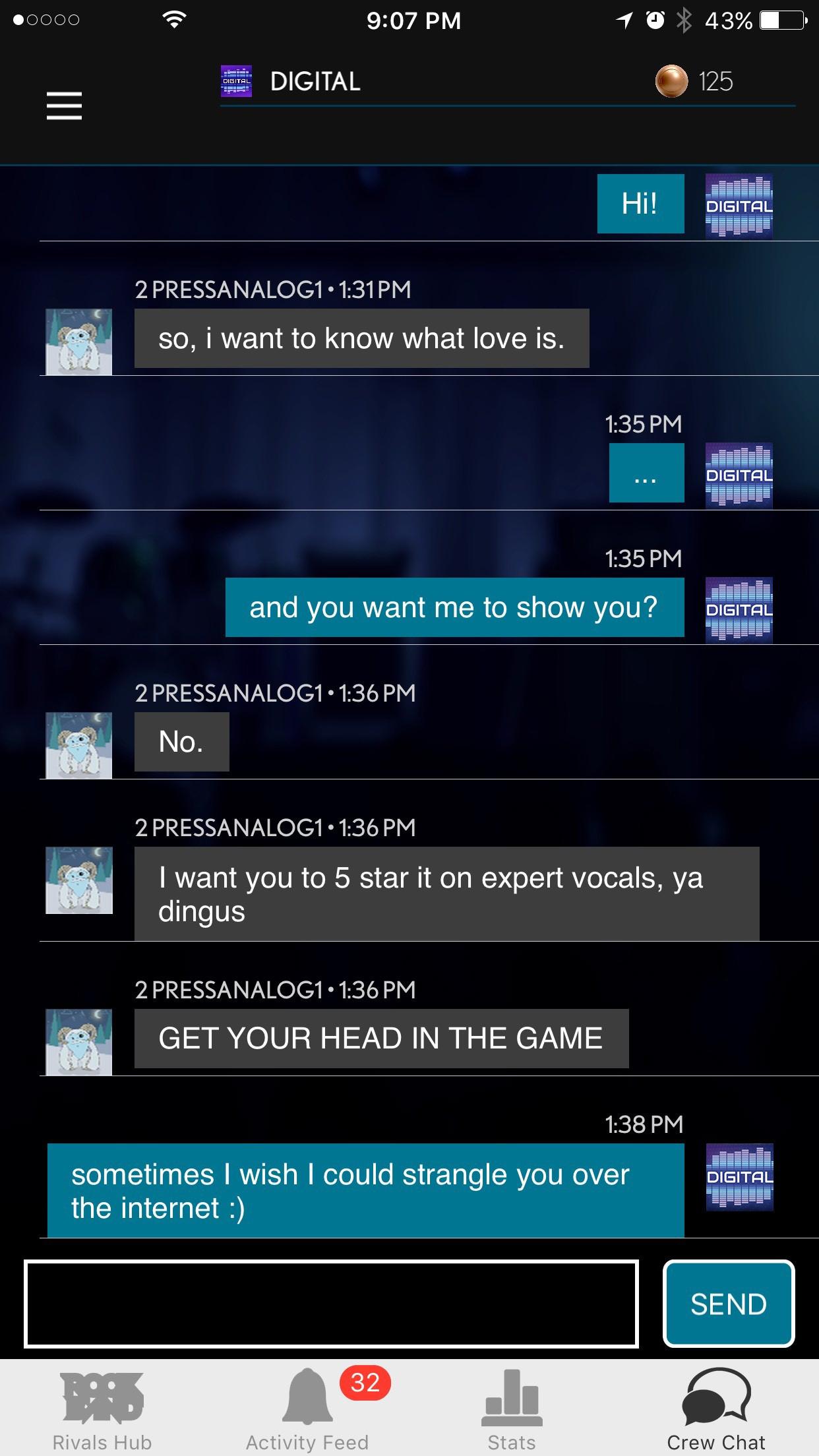 Companion App Chat