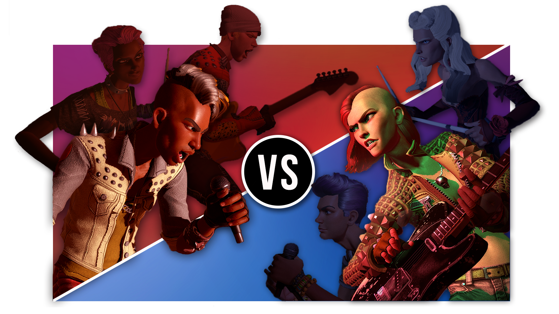 Rock Band Rivals - Rivals Mode