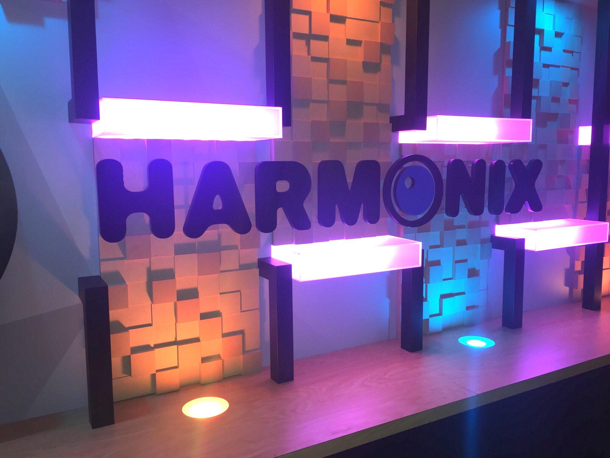 Twitch Harmonix Logo