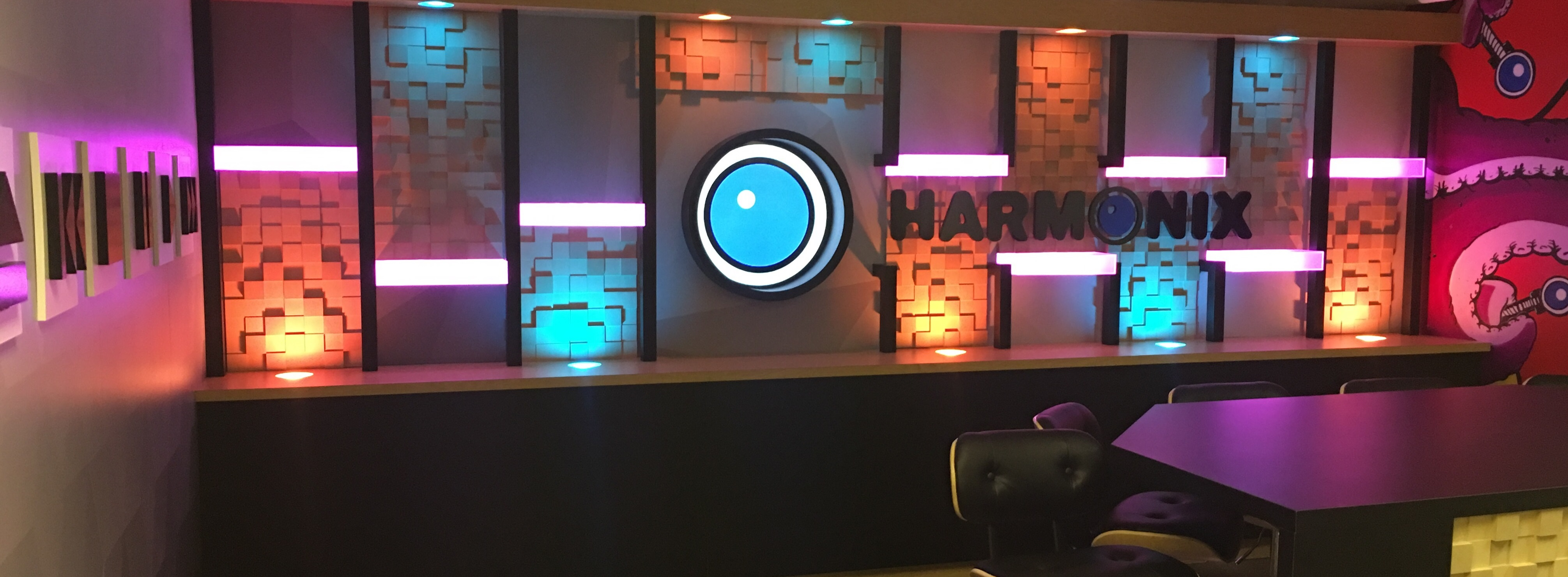 The new Harmonix Twitch studio!