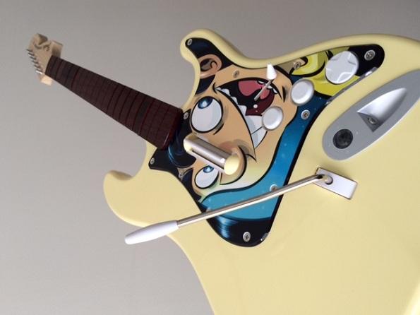 Rock Band 4 Penny Arcade Exclusive Guitar