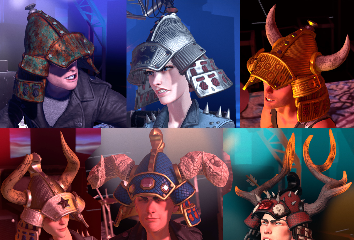 Season 2 Helmets