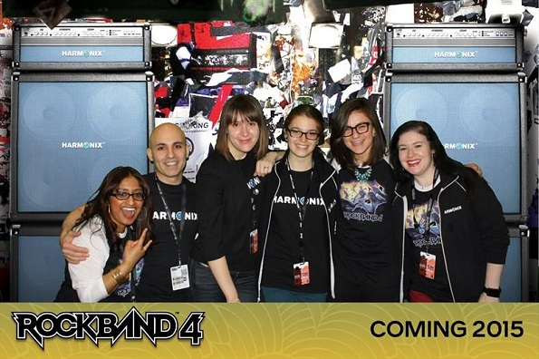 Rock Band 4 Photobooth