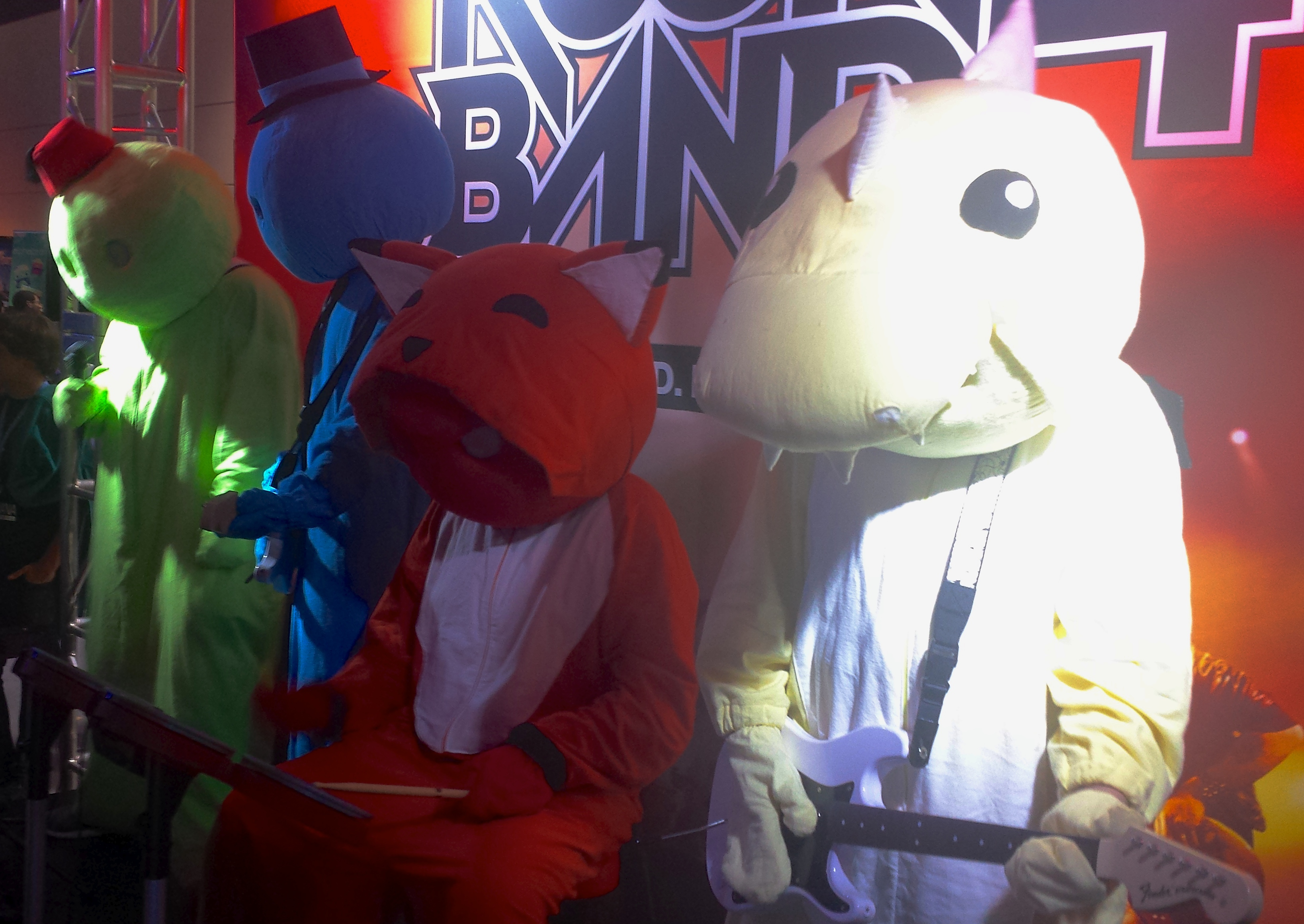 Gang Beasts at RB4 PAX Booth