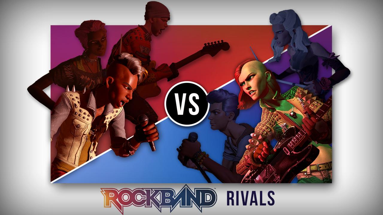 Rock Band Rivals - Rivals Mode