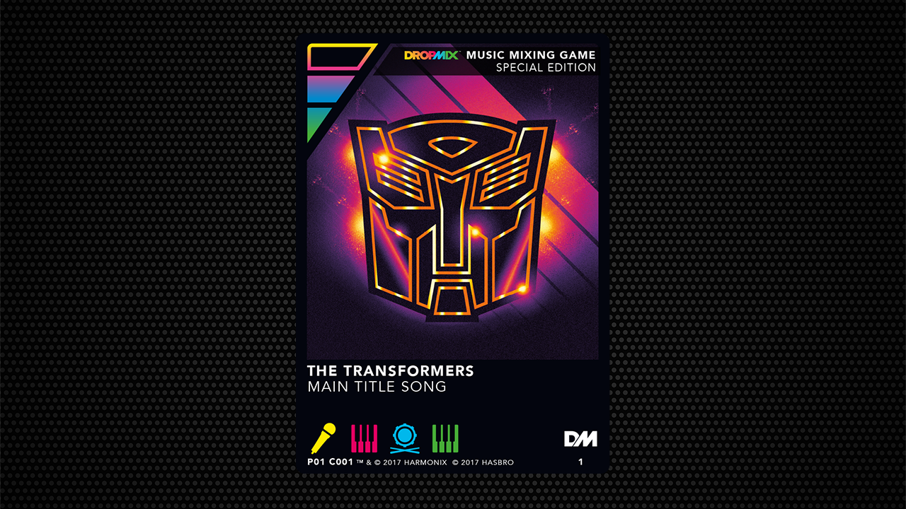 The Transformers Special Edition DropMix Card